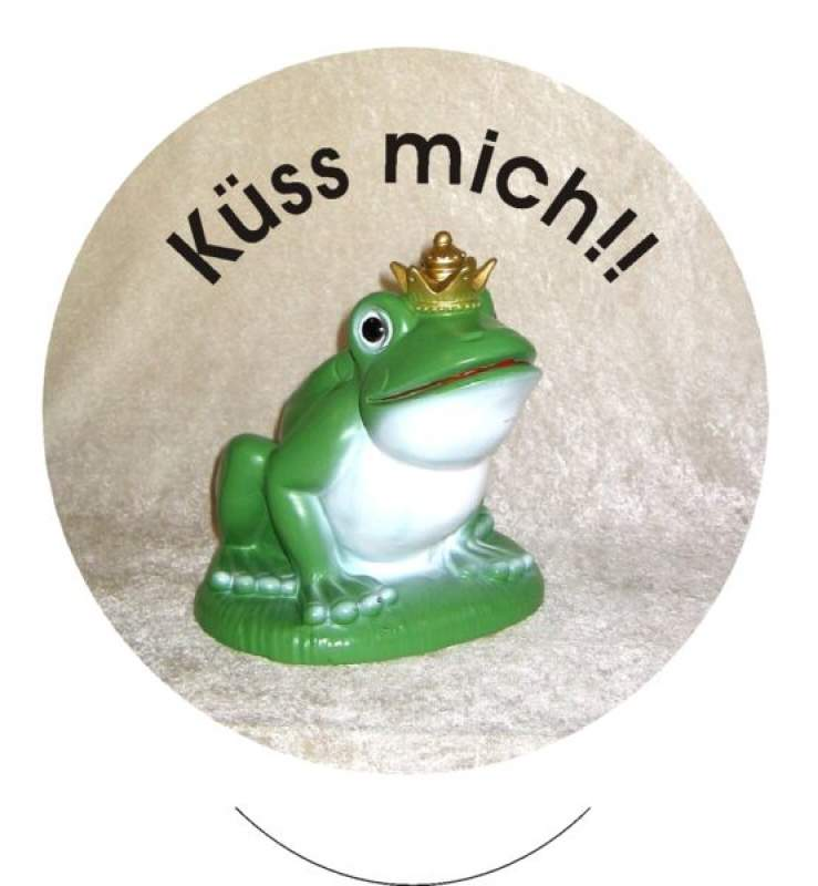 Froschkönig Button